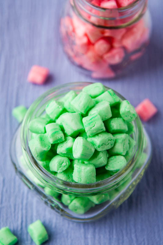 Old-Fashioned Butter Mints {no-bake} ~ smooth and melt in your mouth…  perfect