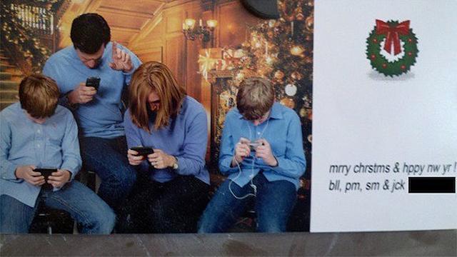 Finally, an honest Christmas card.