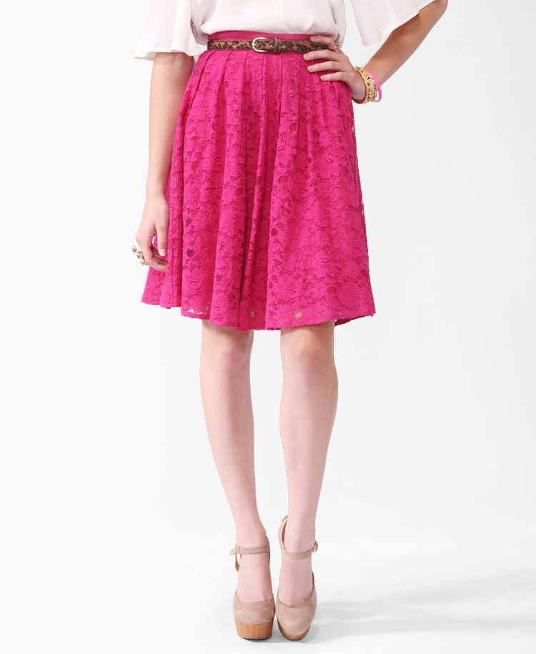 Lace Circle Skirt | FOREVER21 – 2000039186