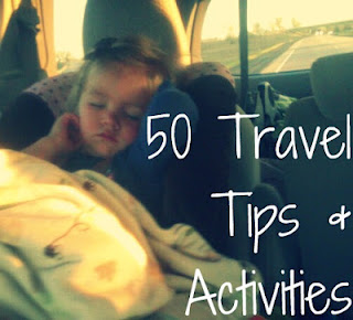 50 Travel Tips and Activities: great ideas for those long car rides. #moving #mo