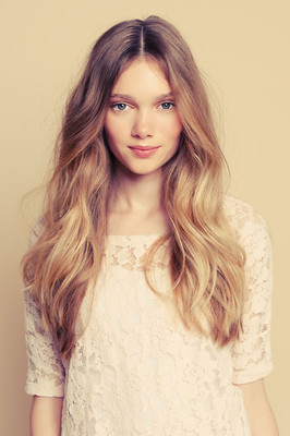 How long I want my hair! ♥ maybe a bit longer even. :)