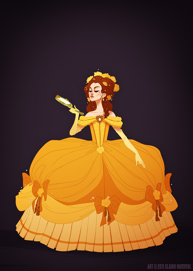 Historically accurate Belle and other Disney Princesses. I'd like to buy all
