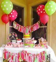 This web site has so many cute affordable ideas for kids birthdays, showers, and