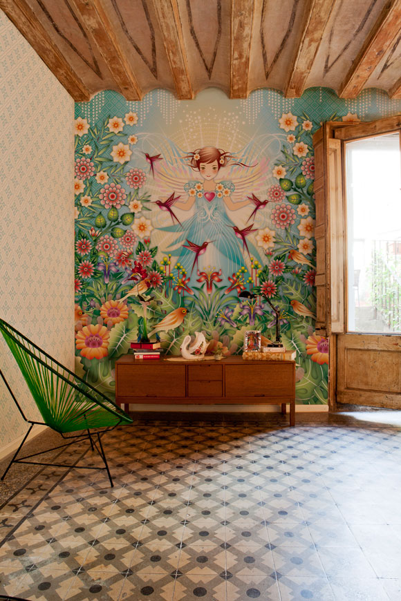 Catalina Estrada Wallpaper collection