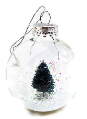 Mini Christmas Tree Handmade Glass Ornament