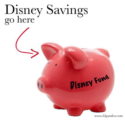 How do you save for Disney?