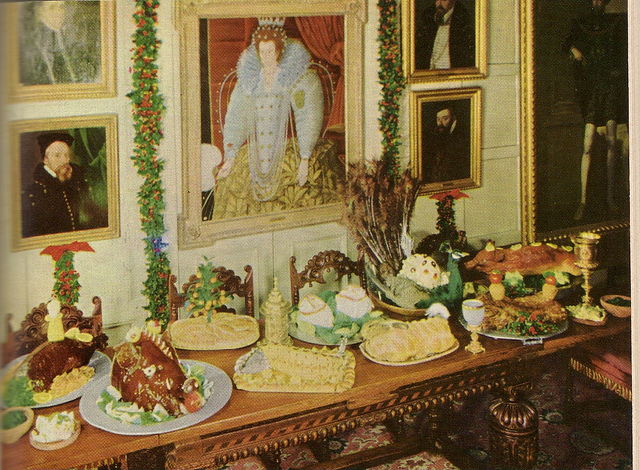 Elizabethan Feast!  The First Course — Civet of hare, a quarter of stag, s