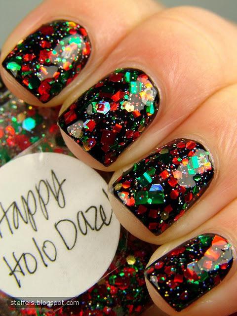 Nail Art: Holiday Confetti