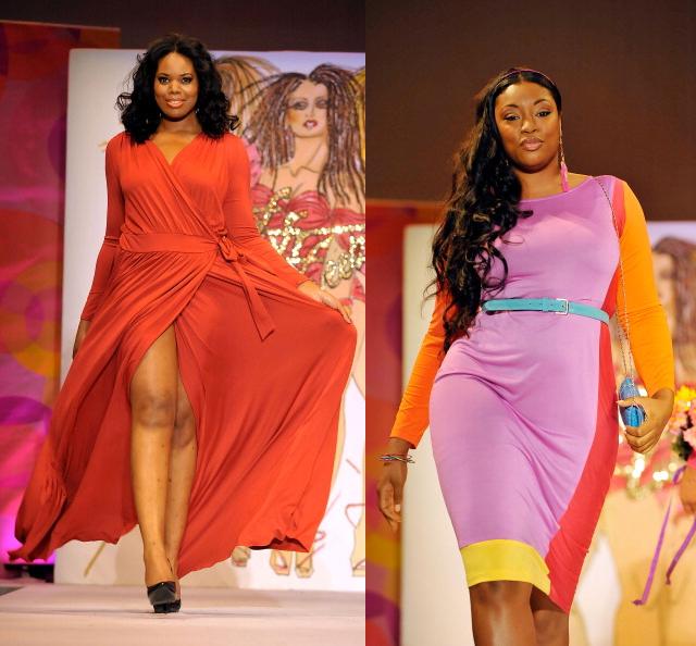 Full Figured Fashion Week 2012