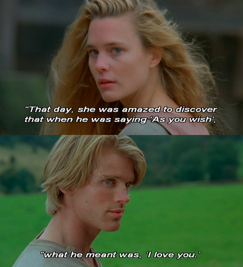 :) my favorite movie of all time.