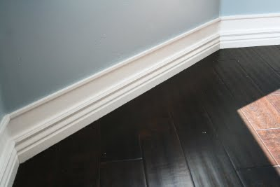 WORKS EVERY TIME! idea for getting bigger baseboards on the cheap, really cheap: