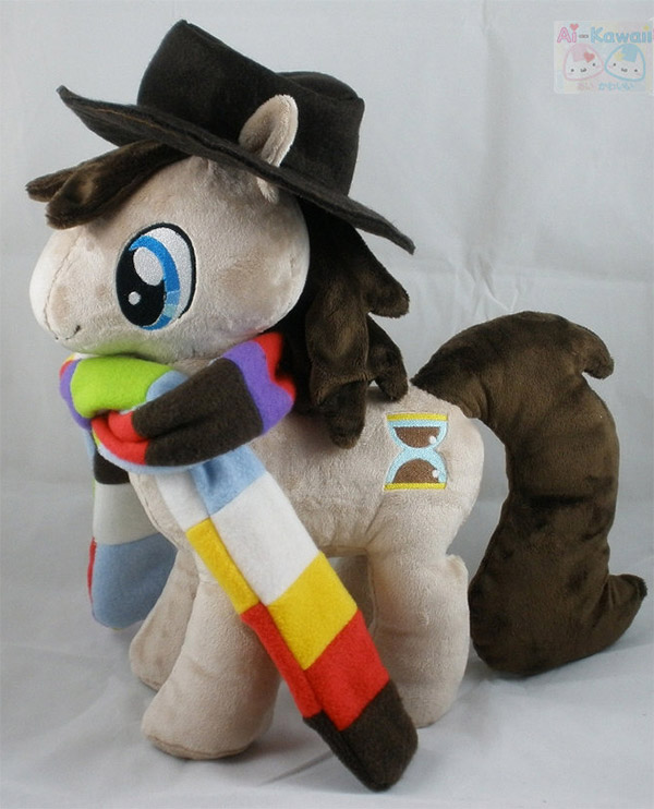 Fourth Doctor My Little Pony Plush: Friendship is Jelly Babies