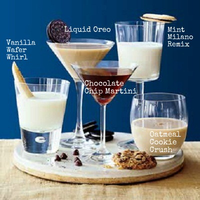 The perfect Christmas cookie cocktails just in time before your creepy uncle arr