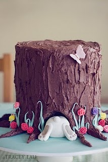 This is so cute! Would be cute w a bear butt then turned into a grooms cake