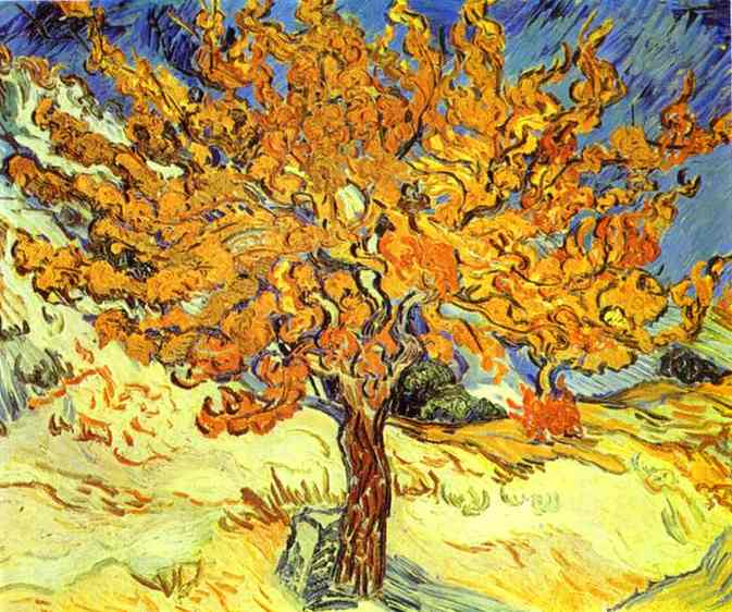 Vincent Van Gogh ~ Mulberry Tree