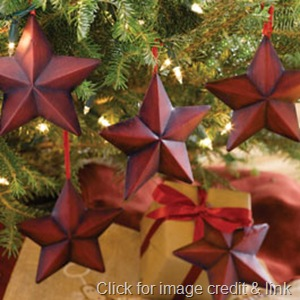 Make your own Star Ornaments