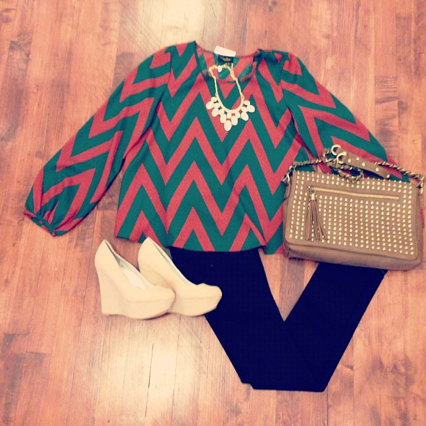 Bluetique Cheap Chic: Outfit of the Day :) 859.309.1310