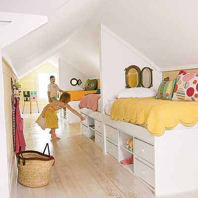 Use your attic space to its full potential.