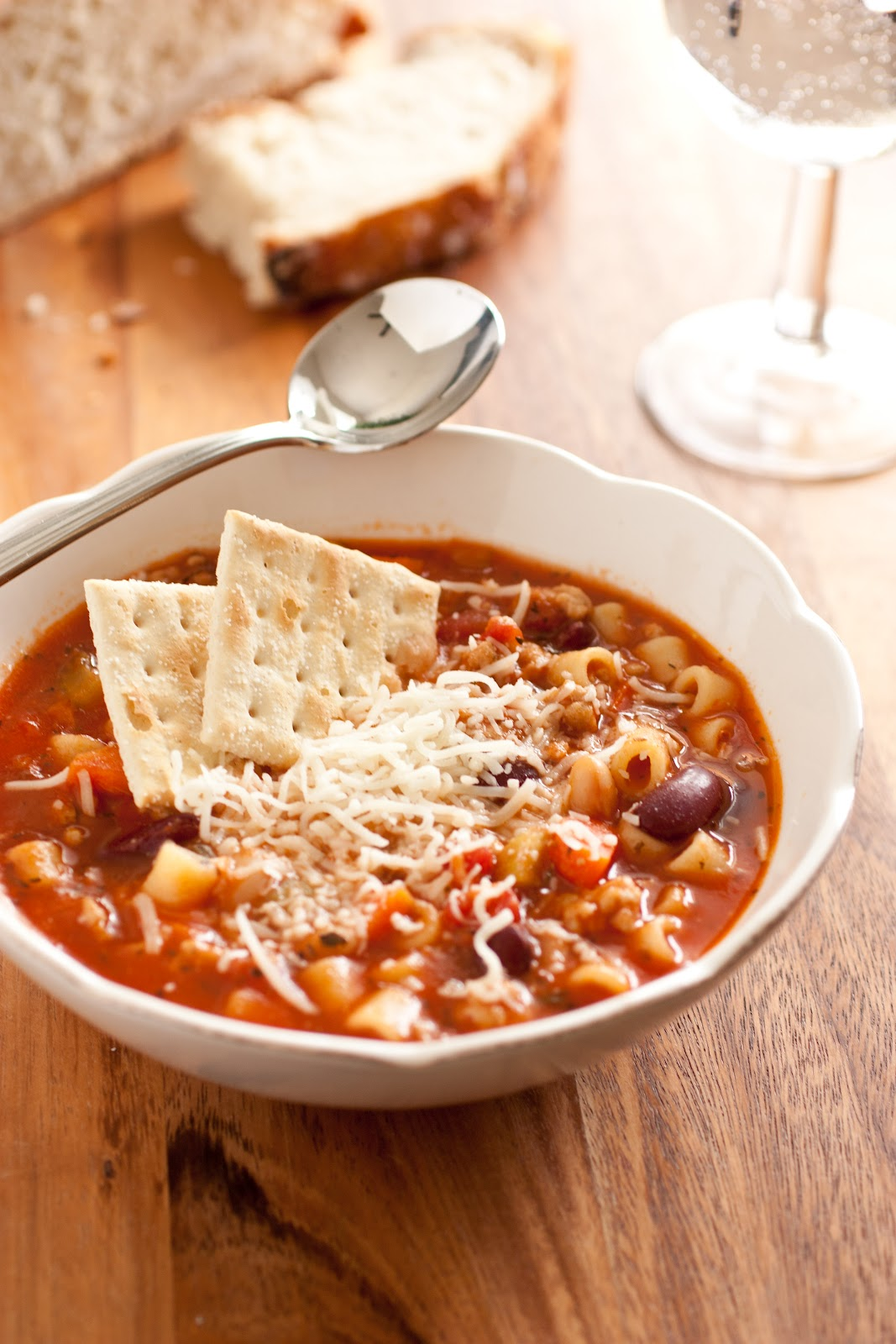 Cooking Classy Olive Garden Pasta E Fagioli Soup Copycat Recipe Recipes Soup Pinpoint