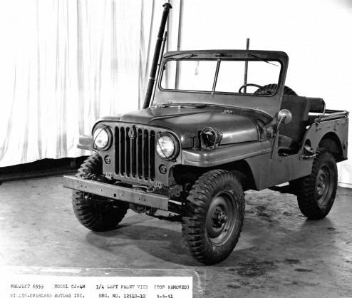 1951 Jeep Willys CJ-4M