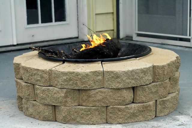 30 dollar, easy DIY fire pit! @kel