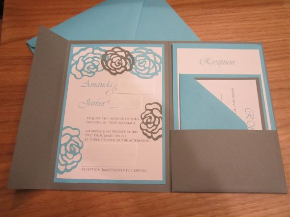 Tutorial for making your own envelopes DIY Invitations! :  wedding Picture 038