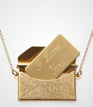 Love Letter Locket Necklace. I WANT!