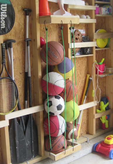 Great ideas to organize the garage
