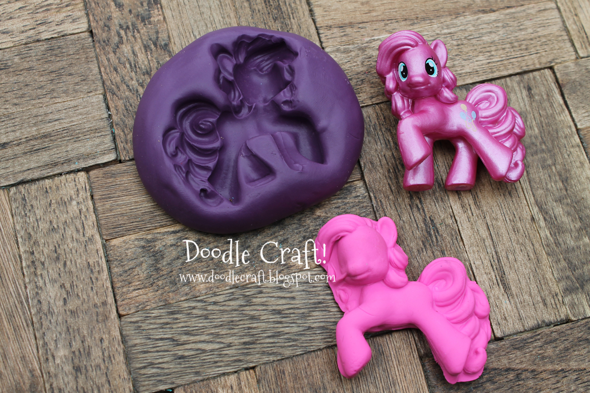 Make your own Silicone Molds!  My little pony mold for candy, chocolate, fondant