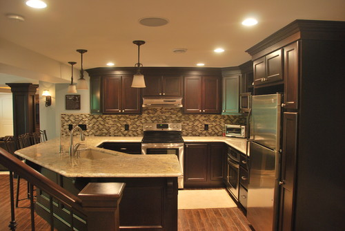 dark cabinets light countertops cabinets light countertops pinpoint 14435