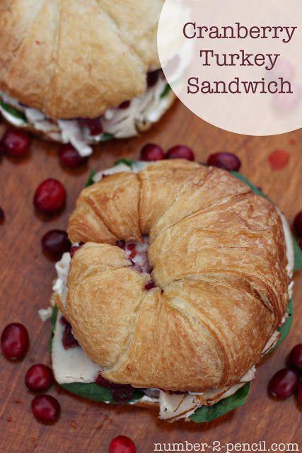 Cranberry Turkey Sandwich