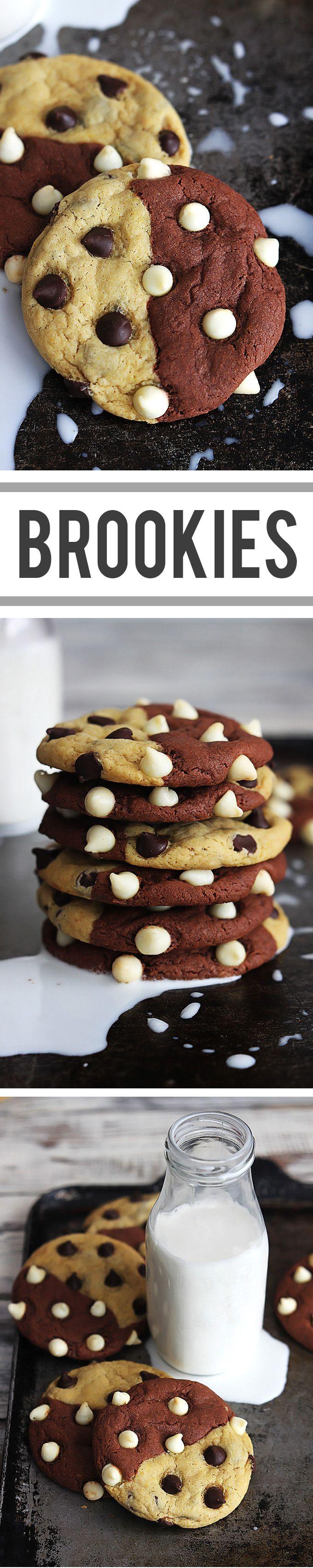 THE Best Brookie Cookies