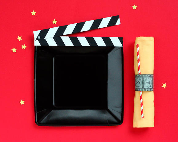 Movie-Awards-Show-Party-Place-Setting