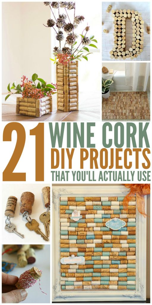 21 Wine Cork DIY Ideas