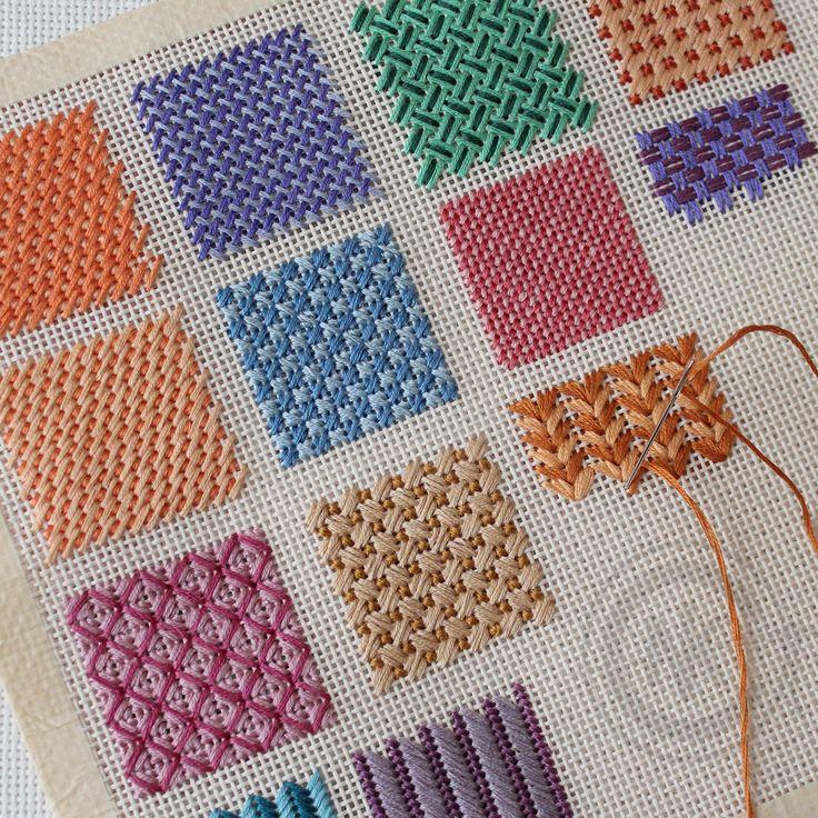 Needlepoint Stitches – Stitch Variations