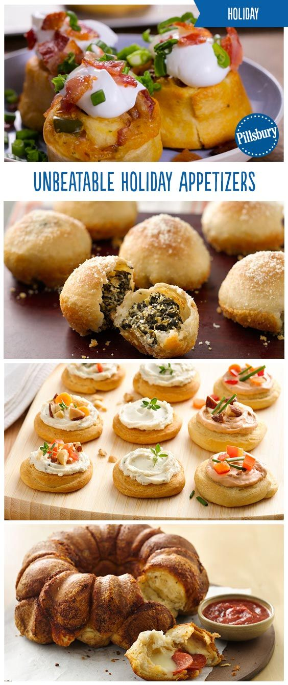 50 easy holiday appetizers