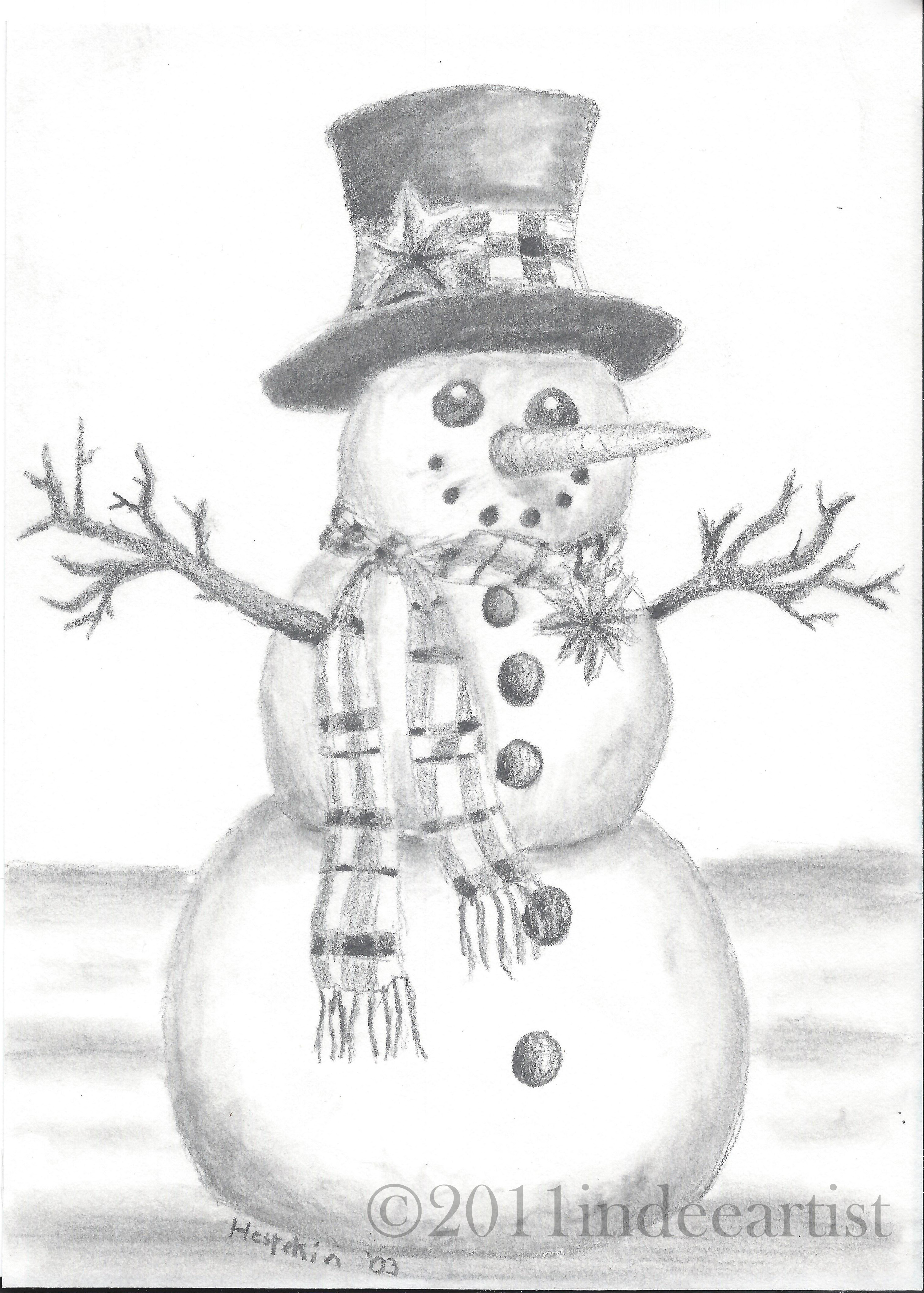 Christmas Drawing and Card -   Ideas for Christmas Drawing