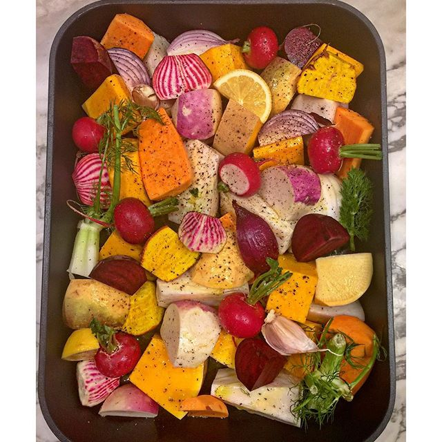 Roast Ready.  #veg