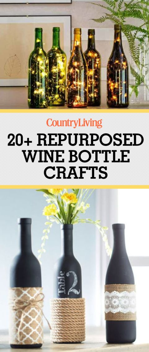 Attention wine lovers: you will LOVE these creative ways to repurpose your empty w