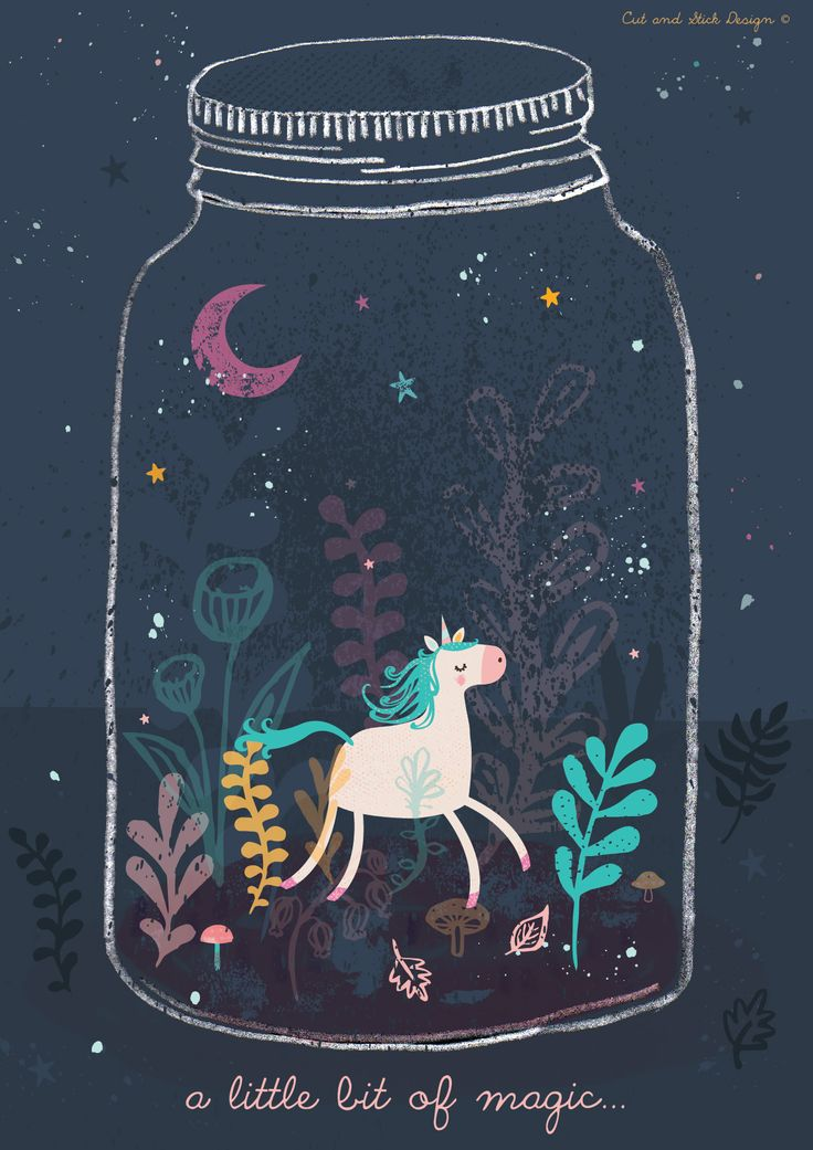 A Unicorn in a Terranium by Emma Haines