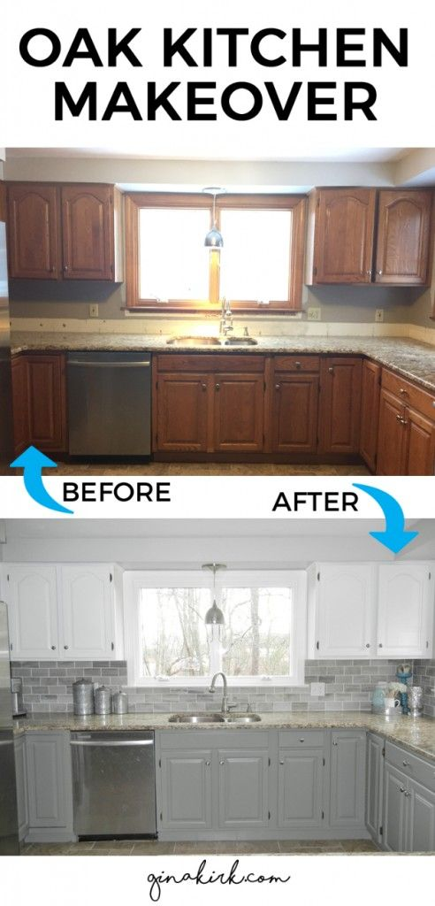 DIY Kitchen Makeover Ideas – Oak Kitchen Makeover – Cheap Projects Projects You Can Make On A Budget – Cabinets, Counter Tops,