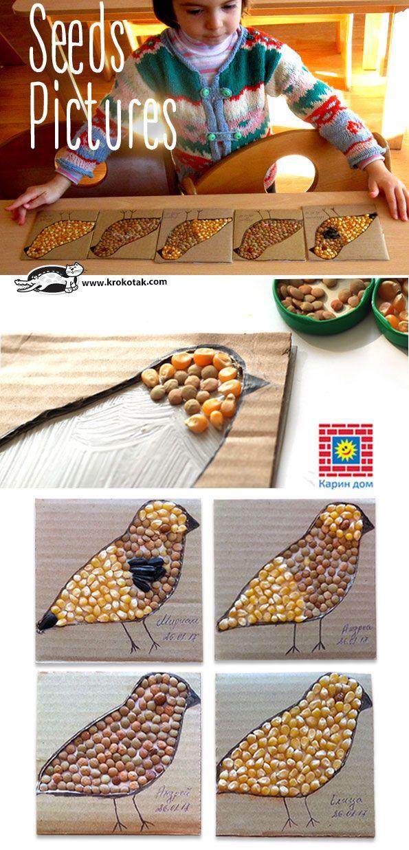 Kunstwerke aus Samen