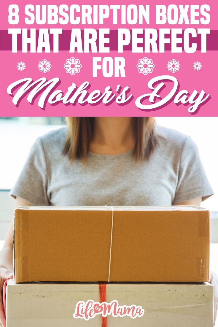 Find the perfect curated box for Mother's Day to give as a gift or to ask your loved ones for a subscription! No matter what