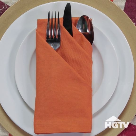 3 Fancy Ways to Fold Napkins