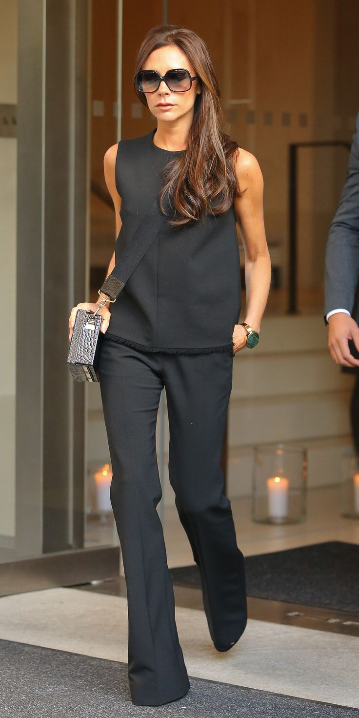 Style Lessons We Learned from Being Obsessed with Victoria Beckham - Lesson: Don't Underestimate the Power of Flares  - from
