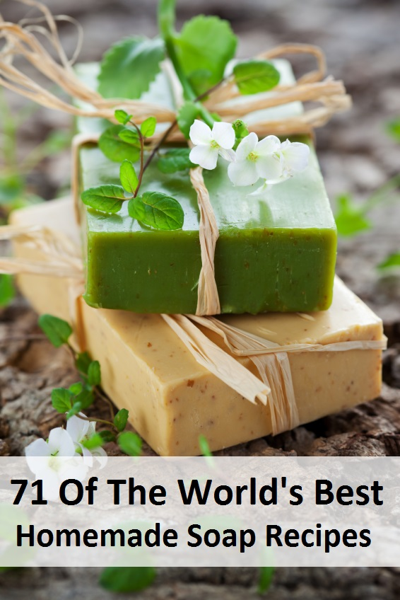 71 Of The Worlds Best Homemade Soap Recipes Hot & Cold process