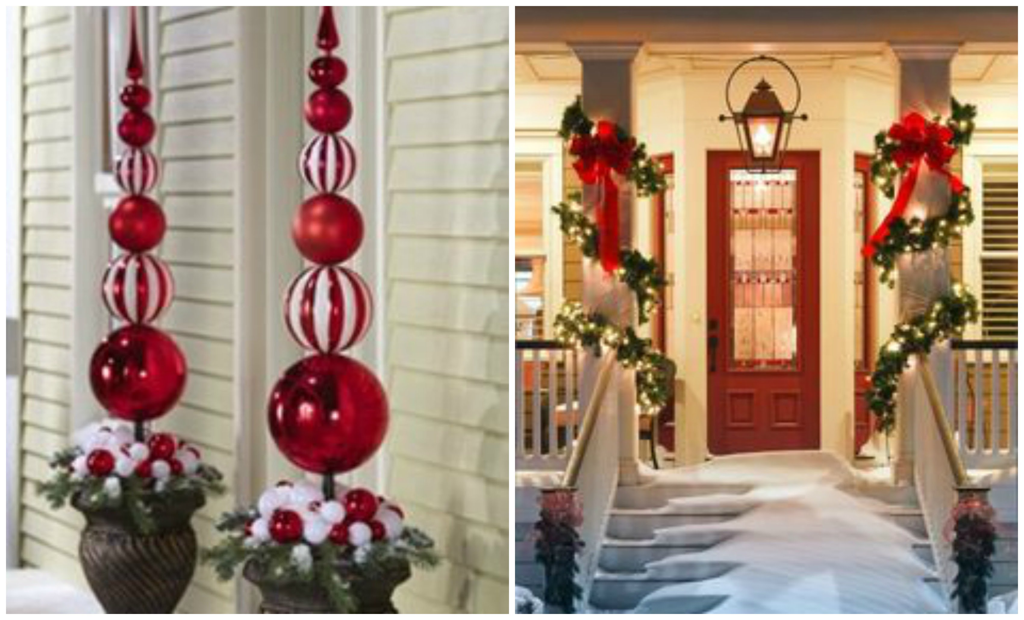 Cheerful Outdoor Christmas Decoration