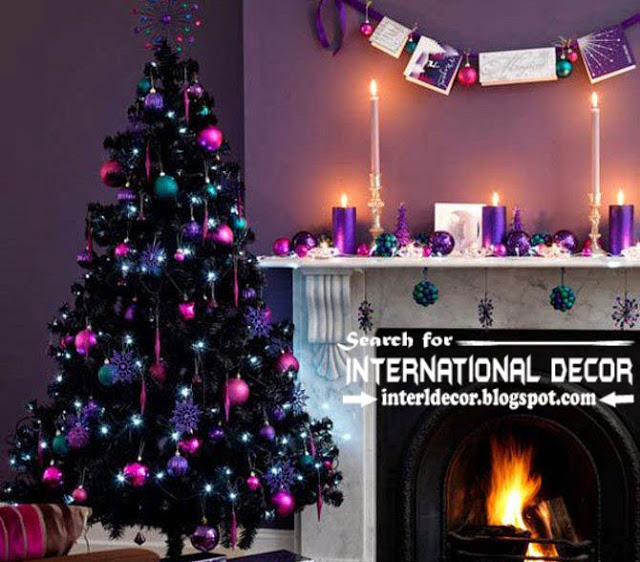 Christmas decorating ideas for fireplace 2015, Christmas fireplace ... -   Christmas Decorating Ideas
