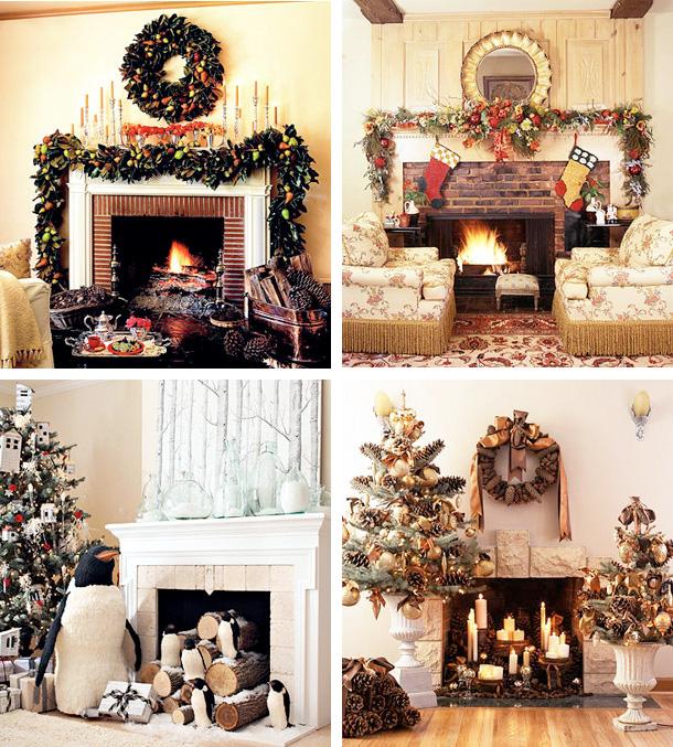 33 Mantel Christmas Decorations Ideas -   Christmas Decorating Ideas