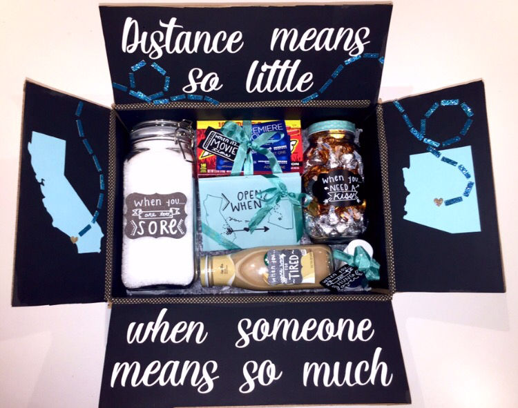 long distance relationship box